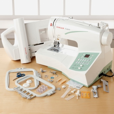 best combination embroidery and sewing machine